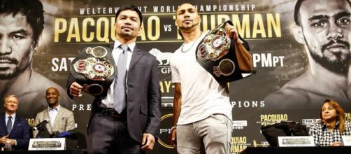 Manny Pacquiao vs Keith Thurman: il 20 luglio si combatte per il mondiale dei pesi welter
