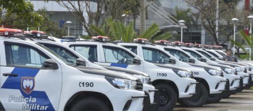 Polícia prende suspeito de assassinato. (Divulgação/Fred Loureiro/Secom)