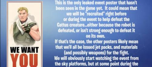 Theories are coming out left and right. [Image source: TheCampingRusher - Fortnite/YouTube]
