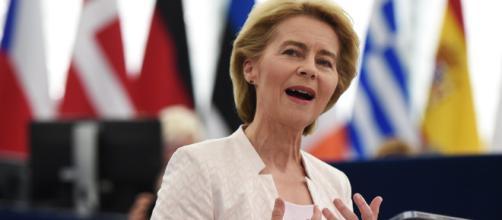 Ursula Von Der Leyen all'Europarlamento