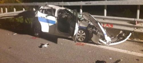 L'Aquila, tragico schianto con l'auto di servizio: muore guardia giurata 22enne