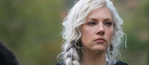 Katheryn Winnick falou sobre o vazamento de spoiler de 'Vikings'. (Divulgação/History Chanel)