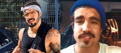 O ator Caio Castro mudou o visual. (Instagram/(@caiocastro)
