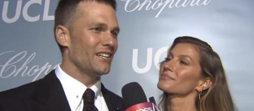 Tom Brady and Gisele Bundchen are married for 10 years now. [Image Source: Access/YouTube]