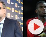 Juve, Paratici sacrificherebbe Cancelo, Matuidi e anche Douglas Costa per Pogba