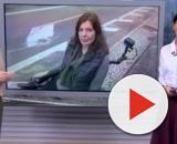 Reporter da TV Globo não pôde terminar a reportagem por falta de acessibilidade em SP. (Reprodução/TV Globo)