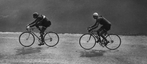 Fausto Coppi e Gino Bartali nel Tour de France del 1949