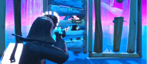 A new door strategy in Fortnite has been discovered by players and it's quite OP.. [Image source: OrangeGuy/YouTube]