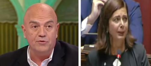 Rizzo attacca Laura Boldrini: 'Proprio lei, non si azzardi a parlare di anti-fascismo'