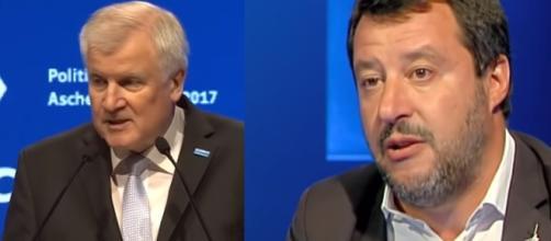 Seehofer prende in giro Salvini al vertice di Helsinki