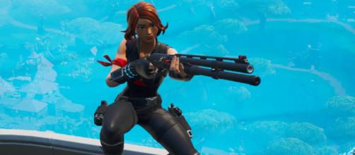 The Combat Shotgun has been nerfed once again in 'Fortnite.' [Image Source: In-game screenshot]