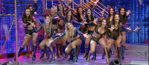 Bailarinas são dispensadas do do Domingão do Faustão. (Arquivo Blasting News)