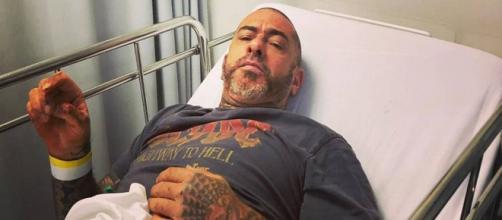 Henrique Fogaça se acidenta ao cair de moto. (Divulgação/Instagram/henrique_fogaca74)