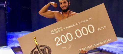Omar Montes, el gran vencedor de Supervivientes 2019