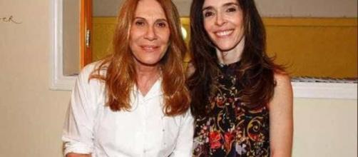 Renata Sorrah e Deborah Evelyn são parentes. (Arquivo Blasting News)