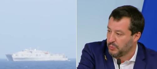 Salvini si esprime sul caso della cittadinanza negata ai finanzieri coinvolti nel caso Sea Watch