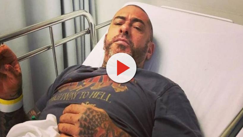 Henrique Fogaça cai de moto, se acidenta e posta foto no hospital