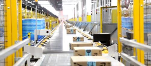 Amazon has taken heat for how they treat their warehouse employees. [Image Credit] Staten Island Advance/YouTube