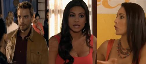 Bruno e Vanessa armam para Ana Paula. (Reprodução/SBT)