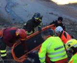Calabria, 27enne precipita nel vuoto: è grave. (foto di repertorio)