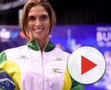A esgrimista naturalizada brasileira, Nathalie Moellhausen, ganha o primeiro título mundial para o Brasil. (Arquivo Blasting News)