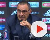 Juventus, parla Maurzio Sarri.