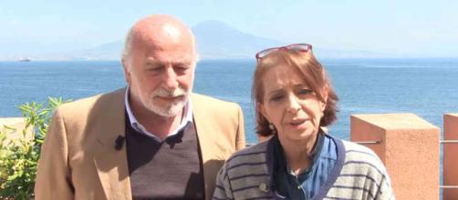 Otello (Lucio Allocca) e Teresa (Carmen Scivittaro)