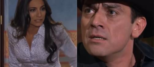 Rogério descobre a verdade sobre Ana Paula e Gustavo. (Reprodução/Televisa)