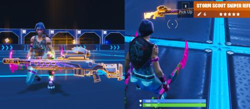 """Storm Scout Sniper Rifle is coming to """"Fortnite Battle Royale."""" Image Credit: In-game screenshots"""