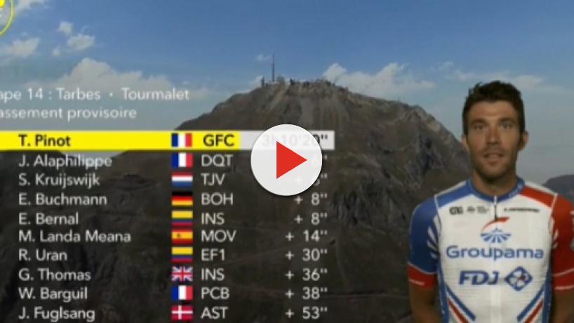 Tour de France: Pinot conquista la tappa del Tourmalet, crolla Quintana