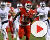 Tyreek Hill on his way out of KC? [Image via MP5/YouTube]