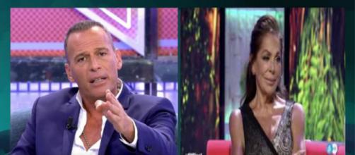 Carlos Lozano ataca a Isabel Pantoja en Sábado Deluxe y la tilda de prepotente