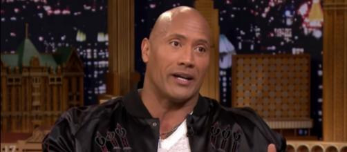 Dwayne 'The Rock' Johnson and Tom Brady are friends. [Image Source: The Tonight Show Starring Jimmy Fallon/YouTube]