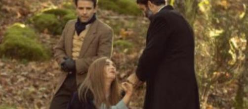 Il Segreto, spoiler al 26 luglio: Carmelo e Don Berengario salvano Julieta dopo l'abuso