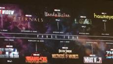 Marvel anuncia los planes para la fase 4 de su universo cinematográfico