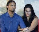 Bruno Fernandes e Ingrid Calheiros estão juntos desde 2008. (Reprodução/Record TV)