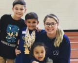 Kailyn Lowry poses with her three sons. [Photo via Instagram]