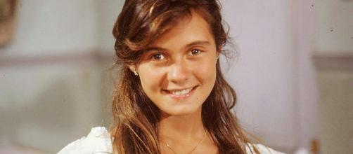 Adriana Esteves foi revelada no programa 'Domingão do Faustão'. (Reprodução/TV Globo)