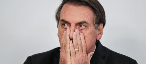 """Bolsonaro responde sobre a polêmica de ter chamado governadores de """"Paraíba"""". (Arquivo Blasting News)"""