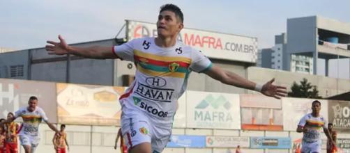 Brusque foi o último time a garantir acesso. (Divulgação/Lucas Gabriel Cardoso/Brusque FC)
