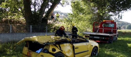 El taxista que avisó del accidente de Salamanca es familiar de uno de los muertos