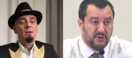 J-Ax in un'intervista al Corriere della Sera cita Salvini