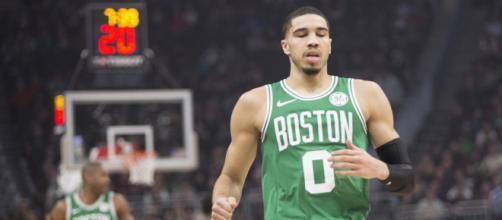 Jayson Tatum will be entering his third season with the Celtics. [Image Source: Flickr | Dan Garcia]