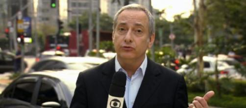 José Roberto Burnier é afastado para tratamento. (Reprodução/TVGlobo)