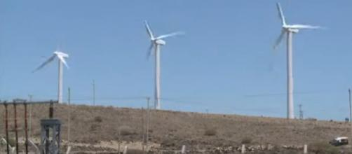 Kenya launches Africa's largest wind farm. [Image source/africanews YouTube video]