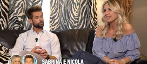 Sabrina e Nicola sarebbero stati avvistati insieme a Saluzzo