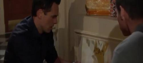 On 'The Young and the Restless,' Billy discovers the word 'Adam.' [Image Source: Y&R Twitter verified account]