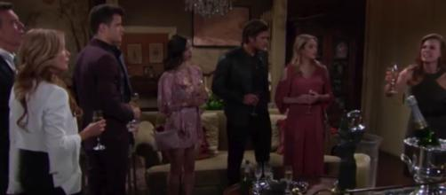 Theo can see problems for Kyle, Lola, Summ t and Phyllis .(Image Source: Y&R-YouTube.))