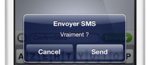 7 personnes qui auraient dû vérifier avant d'envoyer leur SMS - photo publiée sur Google