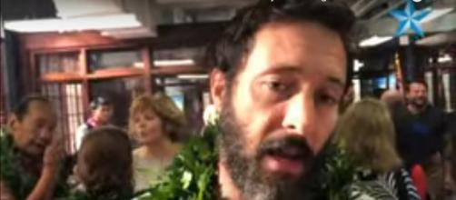 Alex O'Loughlin celebrates the start of 'Hawaii Five-O' Season 10 with a beard and big gratitude. [Image source:Star Advertisr/YouTube]